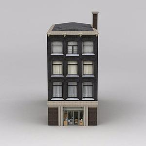 3d建筑樓模型
