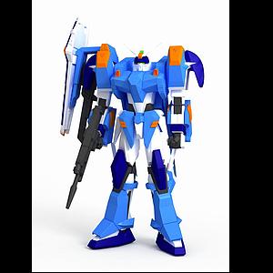 3d蔚藍決斗<font class='myIsRed'>高達</font>模型