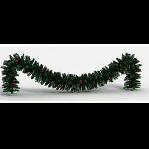 圣誕裝飾樹枝模型