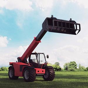 農業機械模型