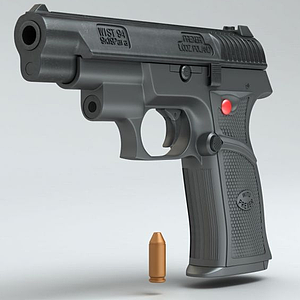 3dWIST-94半自动手枪模型