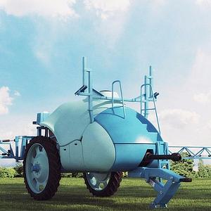 高精度農業機械模型