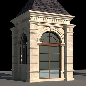 門衛房小崗亭模型
