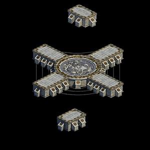 獨孤劍冢寶藏密室模型