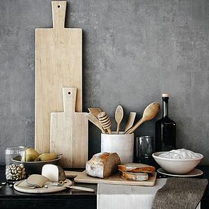 3d厨房装饰品模型