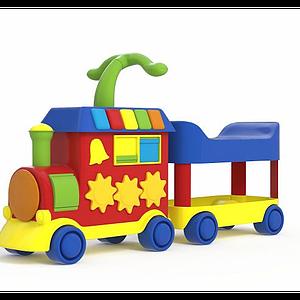 小火車玩具模型