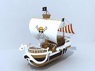 海賊王之梅利號模型