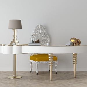 3d家具飾品組合模型