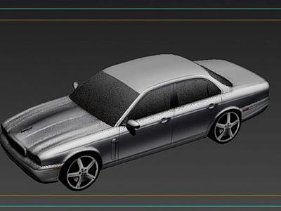3d捷豹模型