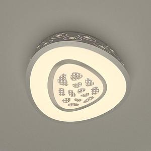 桃心燈模型