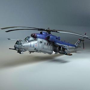 直升機模型