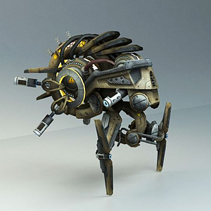3d科幻飛行器<font class='myIsRed'>飛機</font>模型