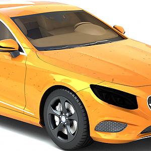 3d奔馳Coupe<font class='myIsRed'>跑車</font>模型