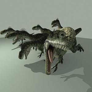 單脊龍模型