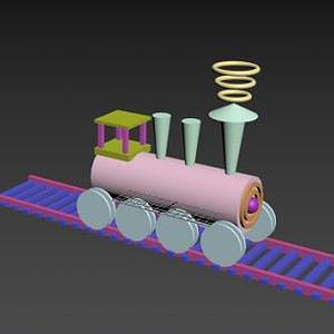 小火車模型