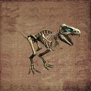 霸王龍恐龍骨架模型