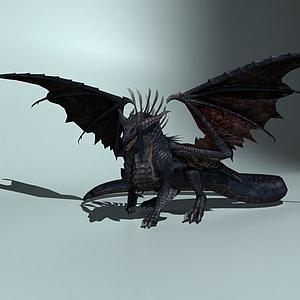 怪物龍模型