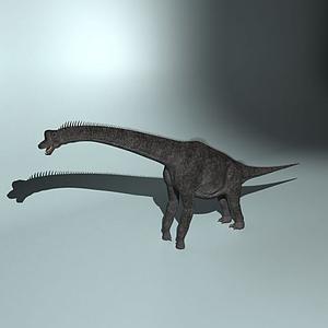巨臂龍模型