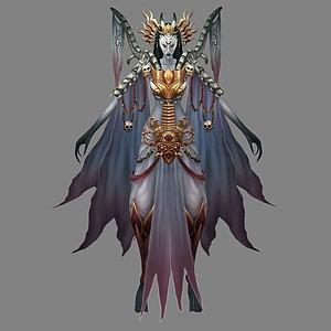 3d女怪物模型