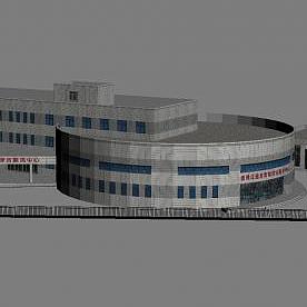 3d醫院模型