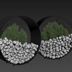 3d綠植模型