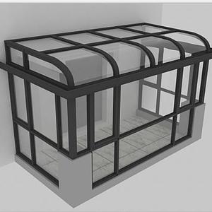 3d阳光房模型