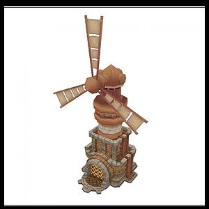 Q版大風車模型