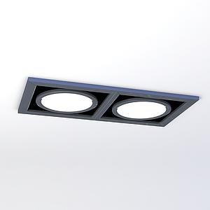 斗膽燈模型