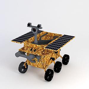 玉兔號探測器模型