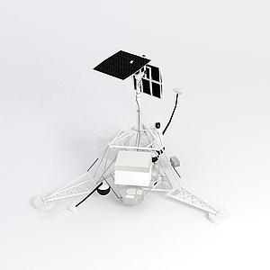 美國月球探測器徘徊者號模型