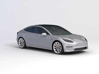 3d2018款特斯拉Model3模型