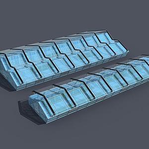3d玻璃<font class='myIsRed'>温室大棚</font>模型