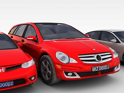 3d車3D模型模型