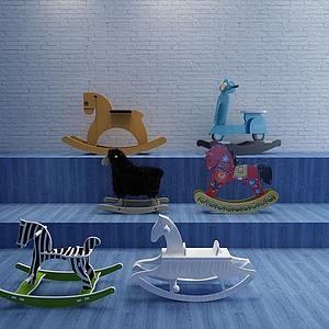 兒童木馬模型