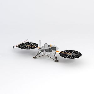 美國鳳凰號火星探測器模型