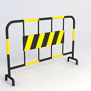 鐵馬柵欄模型