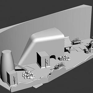 冶煉場景模型