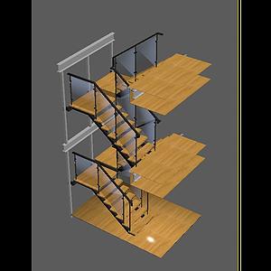 720樓梯模型