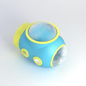 淘氣堡兒童潛艇模型
