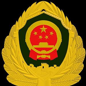 3d徽章模型