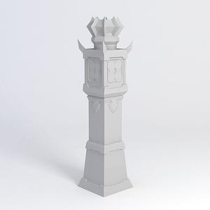 防御塔模型