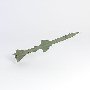 紅旗防空導彈模型