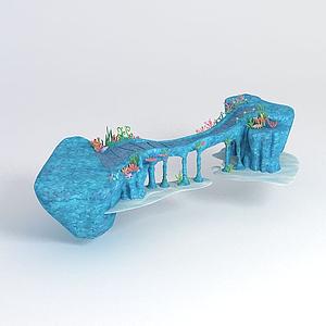 海底世界之皇宮引橋模型