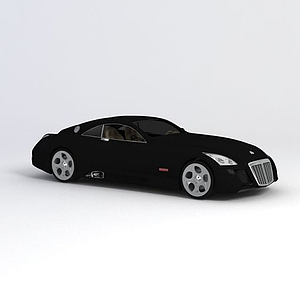 3d迈巴赫exelero<font class='myIsRed'>汽车</font>模型