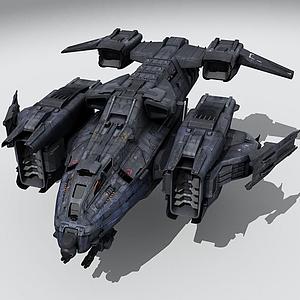 飛船戰機模型