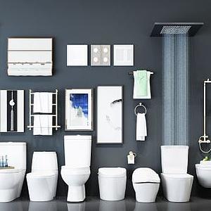 衛生間衛浴組合模型