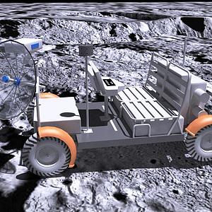 月球車模型