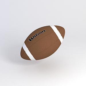 橄欖球模型