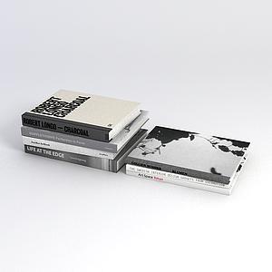 精裝書籍模型
