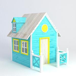 積木房子模型